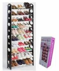 Стойка Для Обуви Stackable  Shoe  Rack, 10 полок + чехол для стойки